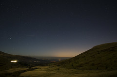 Brecon Stars (Dave2142) Tags: light sky mountains grass night dark stars landscape nikon space breconbeacons hills iso astronomy foreground stargazing