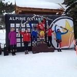 Stephanie Gartner (Fernie Alpine Ski Team) 2nd at National slalom race, Osler Bluff, Ontario PHOTO CREDIT: Aaron Speden