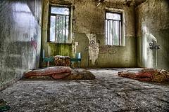Derelicta (Luca Libralato) Tags: windows abandoned bed room walls mattress hdr highdynamicrange letto manicomio stanza sanitarium materasso abandonedroom limbiate mombello canon24105 derelicta stanzaabbandonata canoneos5dm3