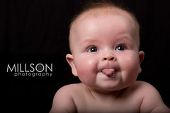 1B1A3298 (moreymillson) Tags: lighting light baby cute tongue studio toddler cheeky