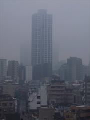 Towers (Peter Bellars) Tags: tokyo shinjuku fujifilm compact x10