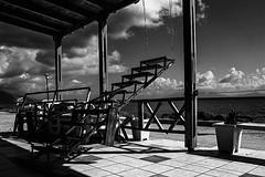 Stairs to Nowhere (Mr. Monk!) Tags: bw streetphotography kos greece 20mm fotografia stories bourbon nomore tigerlillies theodor killingjoke 27213 themonk wildwildeast kardamaina infectiousgrooves stphotographia sonya550 nogoatsnoglory sateo
