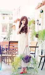 sunny smile (Hatphoenix) Tags: cute beautiful beauty angel asian model charm teen lovely kute hatphoenix