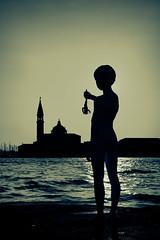 An Offering To San Giorgio (violinconcertono3) Tags: venice sculpture church salute grandcanal sangiorgio davidhenderson boywithfrog charlesray londonphotographer 19sixty3