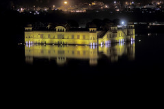 Jal Mahal Night shot (Tarun Chopra) Tags: