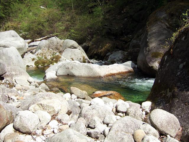 尾白川渓谷の写真