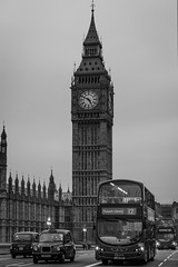 Dulwich Library 12 (Suggsy69) Tags: bw bus london monochrome westminster blackwhite nikon taxi bigben d5100