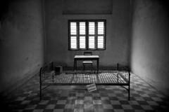 C124 Tuol Sleng Genocide Museum - Phnom Penh (VesperTokyo) Tags: blackwhite asia cambodia victim prison phnompenh s21 securityprison21 nikond3