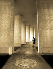 Pillars to Eternity (Tomasito.!) Tags: camera city boy portrait man cemetery silhouette nikon photographer fort names pillars drama global thefort d90