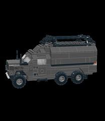 Kangel 4 UtilityL (Paradox Kid) Tags: 6x6 truck army lego 4x4 military moc ldd gpv