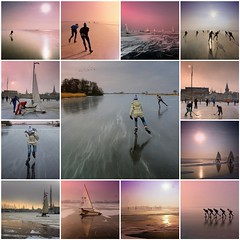 Skating in the winter of 2012 - 2013 (Bn) Tags: park old winter sea sun lake snow cold holland nature netherlands dutch weather sport speed season frozen fdsflickrtoys tour child natural mosaic iceskating skating smooth lakes nederland reserve windy surface skaters best collection national freeze skate skater temperature wilderness viking frigid glas thick marken wetland waterland ijs schaatsen monnickendam ijspret 19c naturalice natuurijs gouwzee gekte greastest seaofice realfeel elfstedendtocht 20122013