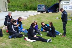 """NNM 2012 Storfjord. Noen av the Berntsens samlet på arenaen • <a style=""""font-size:0.8em;"""" href=""""http://www.flickr.com/photos/93335972@N07/8548972147/"""" target=""""_blank"""">View on Flickr</a>"""