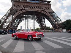 Fresh Red Benz (leroyo) Tags: paris tower lumix raw olympus eiffel f25 omd 14mm rpp em5