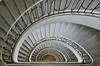 winding staircase (hjuengst) Tags: architecture munich münchen treppe staircase architektur hdr spiralstaircase städtischeshochhausmünchen nikond7000hdr