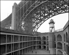 Fort Point & Golden Gate Bridge - 2 (Summicron20/20) Tags: camera field inch kodak tmax traditional 8x10 100 kb schneider 100tmx angulon canham 210mm 21cm f68