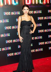 Selena Gomez (crazygirlsa) Tags: madrid smiling fashion movie stars spain formal posing style event premiere gown interview arrivals redcarpet photocall vanessahudgens ashleybenson springbreakers selenagomez rachelkorine callaocinema
