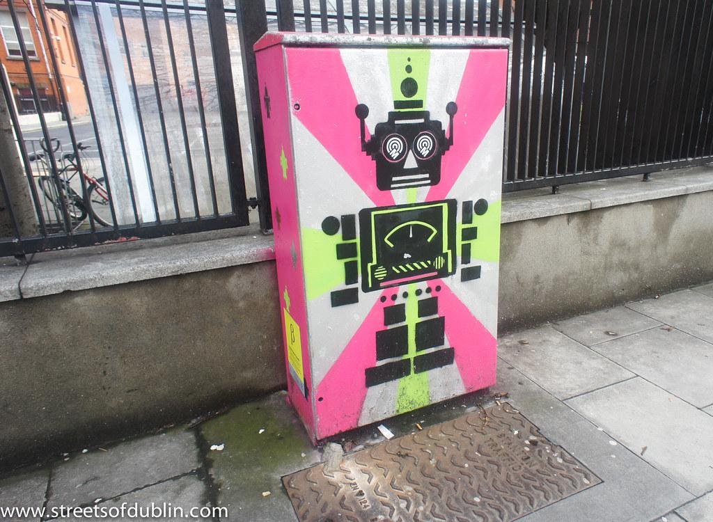 Street Art And Graffiti In Dublin (Bolton Street)