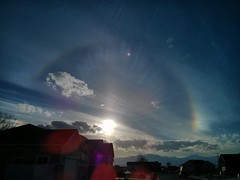 sundog (jpstanley) Tags: sunset sky clouds utah sundog flickrandroidapp:filter=none
