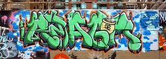 Reagan (#93089) Tags: graffiti ottawa reagan gs stpatricksday potofgold techwall oreagan