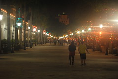Paseo la Princesa (Gabriel0329) Tags: old night puerto lights san juan rico pr caribbean shining walkthrough paseolaprincesa oldsj