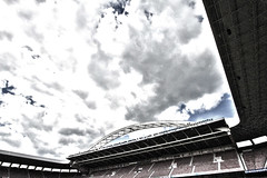 Arco y Nubes (BockBilbo) Tags: athletic bilbao panoramica futbol ifc bizkaia arco hdr euskadi sanmamés kddsanmames