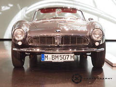 BMW 507 from 1956 (jan-krux photography - thx for 1.3 Mio+ views) Tags: auto classic cars sports beautiful car museum germany munich bmw rare schoen classiccars sportscars e5 roadster sportwagen zd selten klassisch 1260mm rassig 1956bmw507