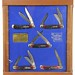 1013. Display Case of Schrade Cutlery Classics