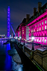 London Eye (frederic jon) Tags: nightphotography london westminster londoneye riverthames embankment westminsterbridge