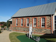 Port Elliot. The old school building now part of Resthaven Nursing Home. Built 1880. The original town school from 1866 in a different location  has now been demolished. (denisbin) Tags: school church southcoast anglican primaryschool portelliot arnella portelliothotel arnellahouse