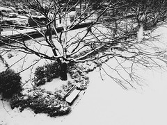 Winter Scenes in Gero (Jon-F, themachine) Tags: winter blackandwhite bw snow monochrome japan digital asian asia cellphone monochromatic mobilephone gero  nippon japo grayscale oriental orient fareast  gifu   bnw nihon digitalphotography hida greyscale iphone japn 2016  nocolor     gifuken   geroonsen   iphonography xapn jonfu iphoneography  iphone6  snapseed