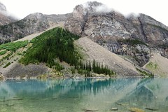 Angles (Patricia Henschen) Tags: canada nationalpark banff alberta morainelake glacial lake reflections rockies northern rockymountains mountains reflection glacier