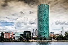Westhafen Tower (Ralph Pascher) Tags: frankfurt tower gerippte