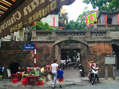 Ha Noi, Vietnam (Quench Your Eyes) Tags: citygate oldgate hanoi honkim southeastasian vietnam vietnamese asia biketour capitalofvietnam southeastasia travel