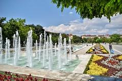 NDK Plaza Sofia Bulgaria    DSC_0383 (Me now0) Tags: ndkplaza sofiabulgariaeurope fountain summer nikond5300 basiclens 1855mmf3556    5300