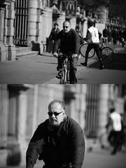 [La Mia Citt][Pedala] (Urca) Tags: milano italia 2016 bicicletta pedalare ciclista ritrattostradale portrait dittico bike bicycle biancoenero blackandwhite bn bw 872150