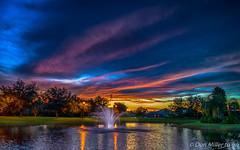 Sundown (Explored 2016.08.26) (DonMiller_ToGo) Tags: hdrphotography hdr millerville nik sunsetmadness 3xp sunsets nature onawalk outdoors goldenhour d5500 lake sky sunsetsniper florida explored