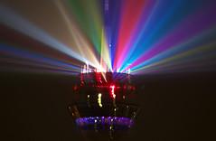 rhine-tower-lightshow_01 (Avia-Photo) Tags: light laser dusseldorf duesseldorf dsseldorf rheinturm rhinetower night pentax