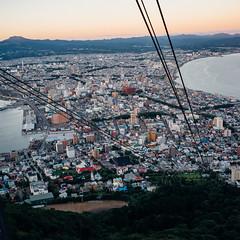 HakodateMt_03 (Sakak_Flickr) Tags: hokkaido hakodate ropeway hakodateyama sunset