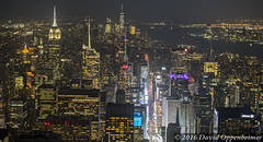 Manhattan Skyline Aerial at Night (Performance Impressions LLC) Tags: midtown midtownmanhattan aerial nyc newyorkcity realestate buildings commercial residential night rain citylights lights oneworldtradecenter timessquare empirestatebuilding skyscrapers manhattan newyork unitedstates usa 13892931902