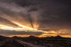 As the sun burns_8101381 (steve bond Photog) Tags: sunset nikon arizona phoenix stevebond stevebondphotography stevebondarizona mountains clouds monsoon rain