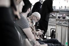 Harlk m? :p (Ahmet OYLUMLU) Tags: old man istanbul photo photography turkey canon phone flickrfriday trip black white photooftheday sea