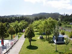 Vista de las Parcelas (brujulea) Tags: brujulea campings ribadeo lugo camping vista las parcelas