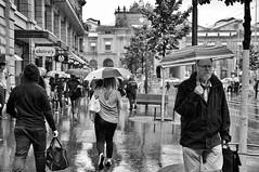 summer rain (Thomas8047) Tags: street zurich zrich schweiz switzerland ch bahnhofstrasse monochrome bw nikon thomas8047 streetpix onthestreets blackandwithe rain regenschauer people passanten iamnikon d300s stadtzrich zrigafien strasse umbrella zri streetartstreetlife flickr snapseed blancoynegro urban streetarte streetscene streetphotography zrichstreets city candid 175528 hofmanntmecom fussgnger regenschirme 2016 streetlife stadtansichten sommerregen regenwetter stadtmenschen summerrain menschen strassenfotografie