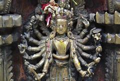 metal vishnu ([toffa]) Tags: nepal 2016 patan people kathmandu kathmanduvalley ratomachhendranath chariotfestival vishnu