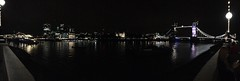 night at the river (maaddin) Tags: iphonephotography london thames towerbridge cityoflondon toweroflondon panorama night