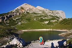 s16_0721_Fanes03 (Vid Pogacnik) Tags: dolomiti dolomites mountain lake mountainlake pass landscape outdoor hiking mountainside