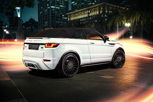 Тюнинг Range Rover Evoque Convertible от Hamann