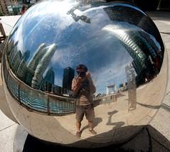 Easy spheric picture (tristan.serobac) Tags: ladefense paris ball skyscraper architecture urbanism outdoor spheric