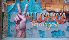 (sendys) Tags: mural graffiti vallcarca barcelona turkesa caynsanchez sendys