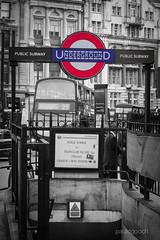 Public Subway (pauldgooch) Tags: eos underground 600d bus tfl train tube city charingcross canon london 2016 transport england unitedkingdom gb westminster bw